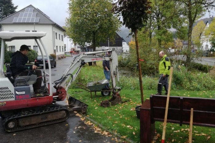Heimatverein trotzt dem Wetter