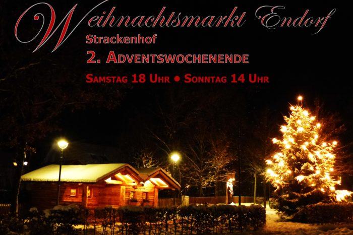 Traditioneller Endorfer Weihnachtsmarkt am 2. Advent