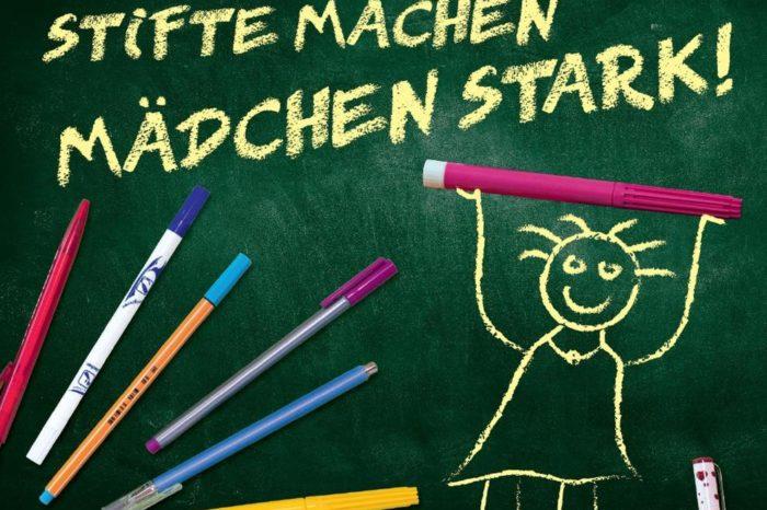 Aktion Stifte machen Mädchen stark