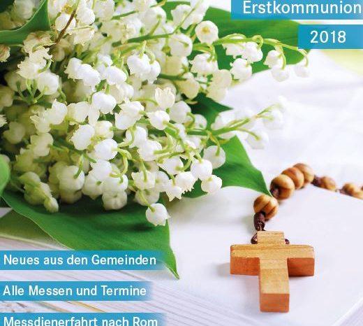 Pfarrnachrichten April 2018