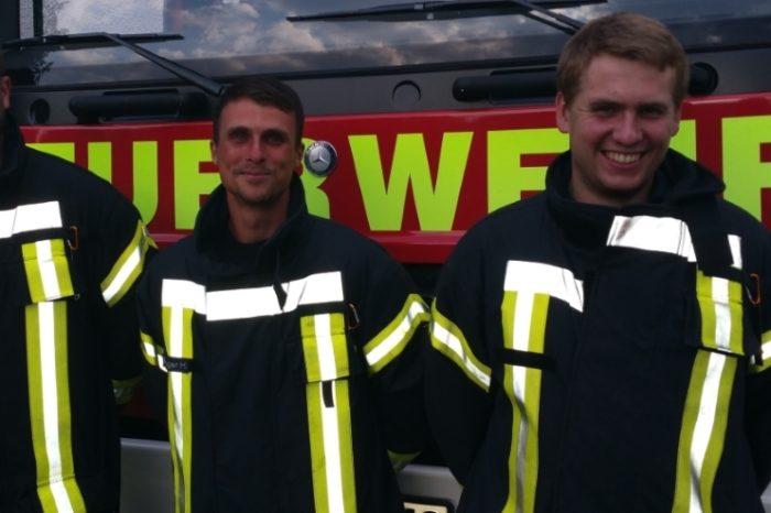 Drei neue Truppführer - Verstärkung für die Endorfer Feuerwehr