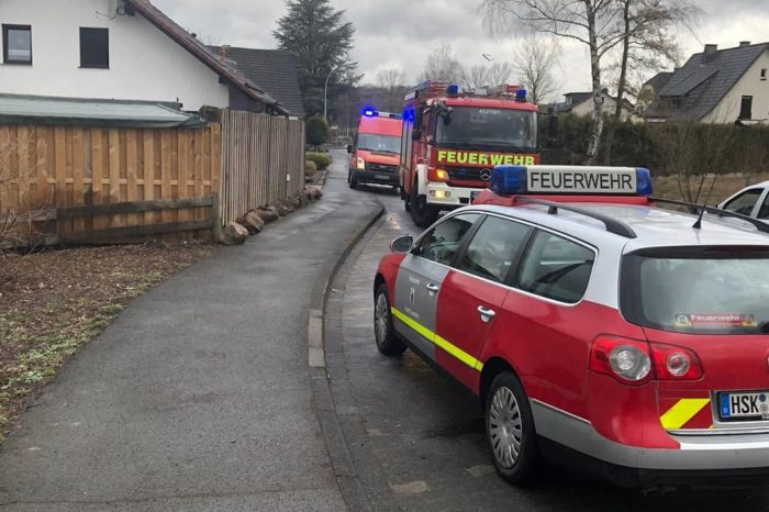 Brandeinsatz für die Feuerwehr Endorf