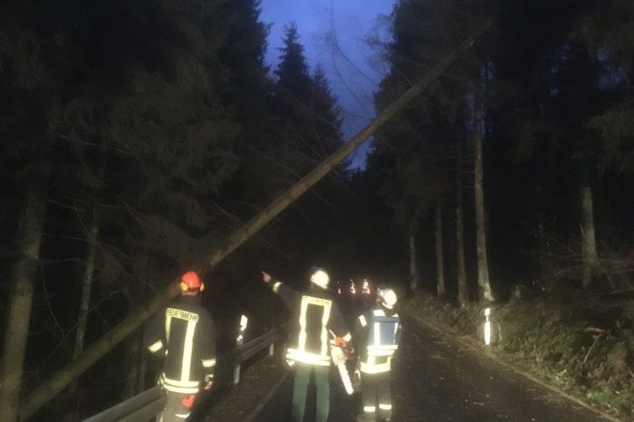 Arbeitsreiches Wochenende für die Feuerwehr
