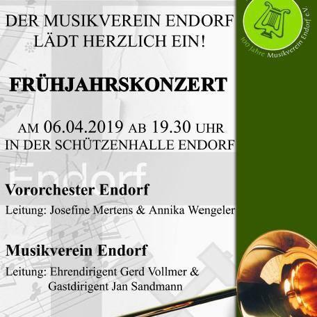 Wunschkonzert des Musikvereins am 06. April