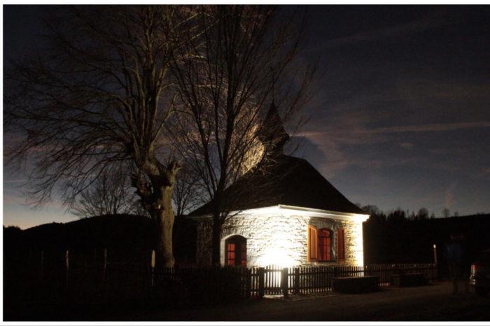 Crowdfunding zur Beleuchtung der Heiligenfeld Kapelle