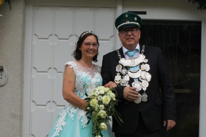Grußwort des Endorfer Königspaares 2018 / 2019
