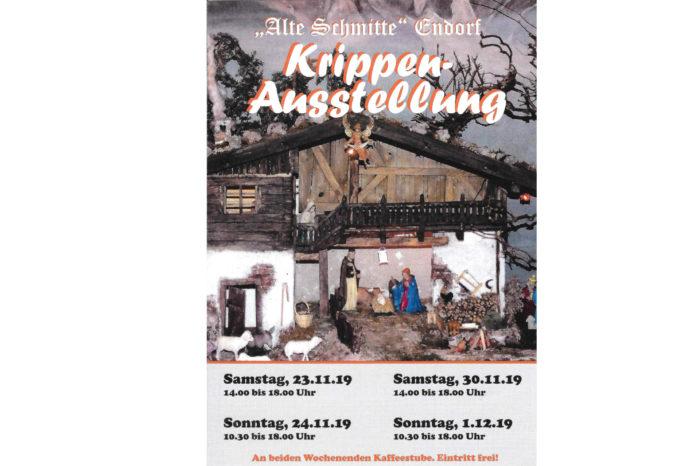 "Krippenausstellung im Heimatmuseum ""Alte Schmitte"""