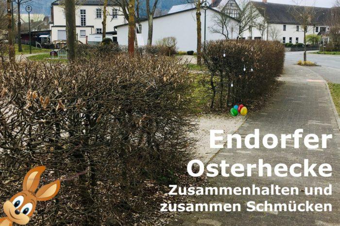 Die Endorfer Osterhecke